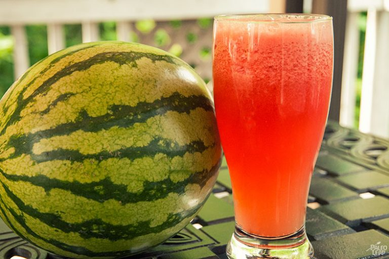 Delicious and Refreshing Homemade Watermelon Sports Drink