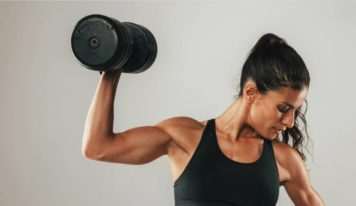 6 Arm toning exercises with dumbbells