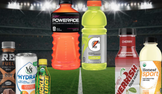 Organic sports drinks after working out