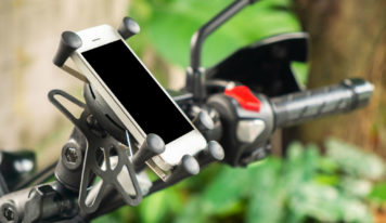 Bike phone mount review for VUP